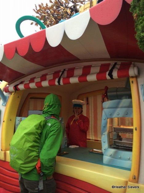 Toon Town Spring Roll Cart