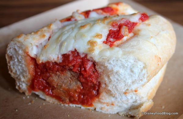 Inside the Meatball Sub