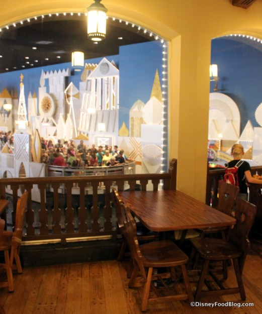 """""""It's a Small World"""" viewing area"""