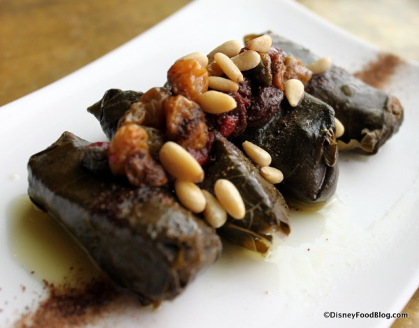 Rice-stuffed Grape Leaves