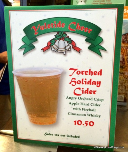 Torched Holiday Cider