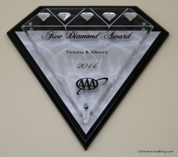 victoria and alberts five diamond award
