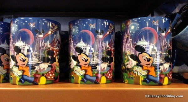 Disney World mugs with the Earful Tower