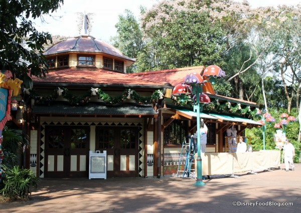 Starbucks in Animal Kingdom