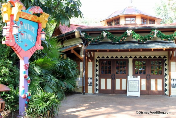Creature Comforts location under refurbishment