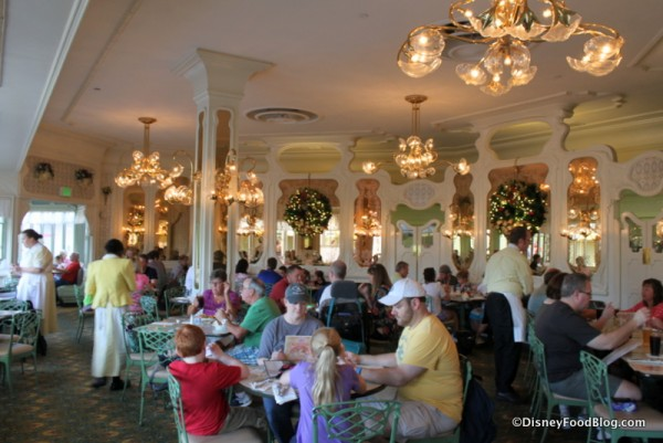 Inside The Plaza Restaurant