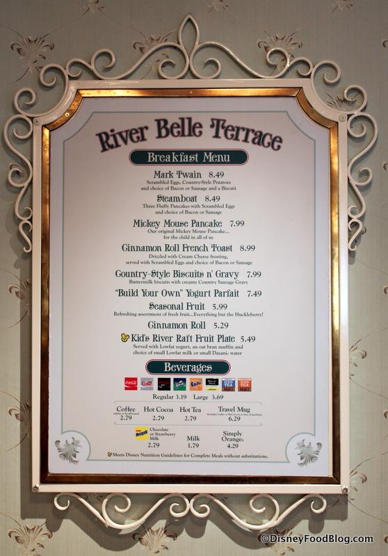 Review River Belle Terrace Breakfast At Disneyland Park