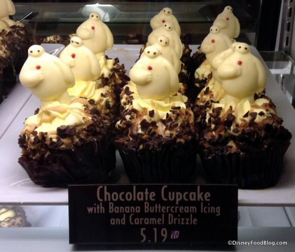 Chocolate Cupcake with Banana Buttercream Icing