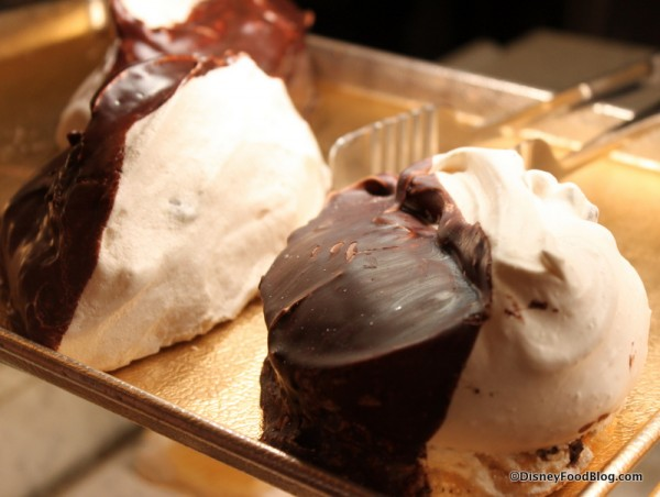 Chocolate Chip Meringue -- In the Case