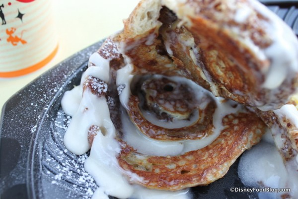 Cinnamon Roll French Toast -- Inside