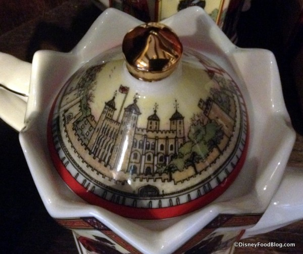 Tower of London teapot lid
