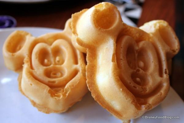 Mickey Waffles!