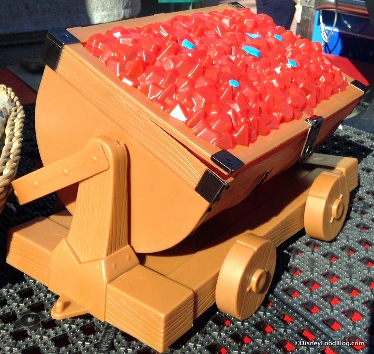 News Seven Dwarfs Mine Train Souvenir Popcorn Bucket At