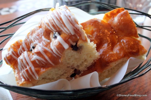 Cinnamon Raisin and Pineapple Bread