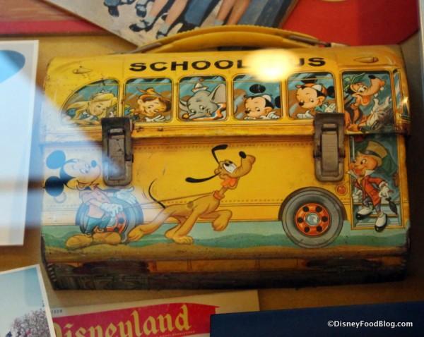 Disney School Bus Lunch Box