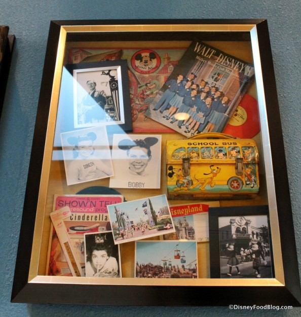 Vintage Disney 50s display