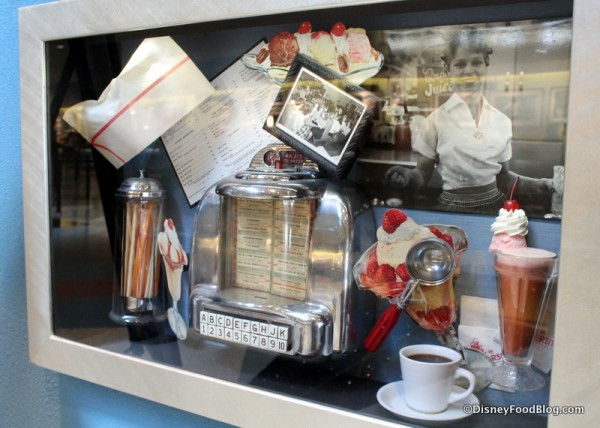 Diner Shadow Box