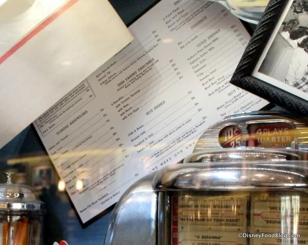 50s Diner display