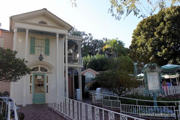 River Belle Terrace in Disneyland