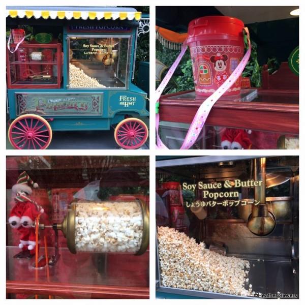 Soy Sauce & Butter Popcorn Cart