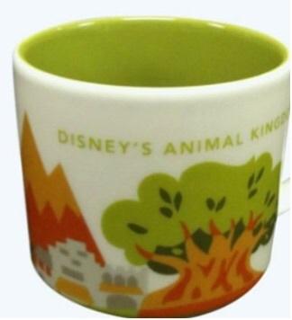 """Animal Kingdom """"You Are Here"""" Mug"""