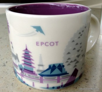 "Epcot ""You Are Here"" Mug"