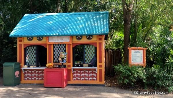 Temporary Allergy-friendly kiosk