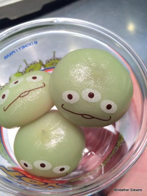 Little Green Dumplings