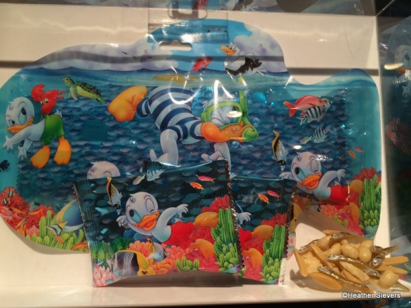 Donald Duck Crackers with Fish