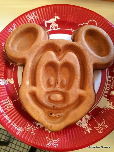 Plain Mickey Waffle