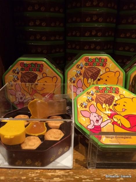 Winnie the Pooh Cookies with Honey Dip
