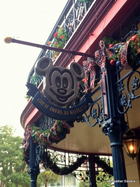 Mickey Waffle Sign