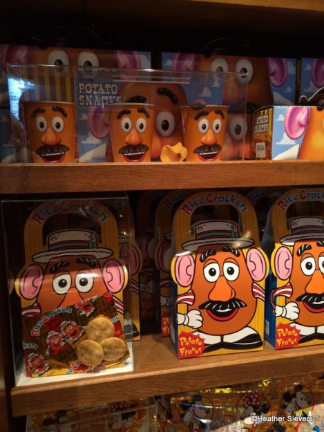 Mr. Potato Head Crackers