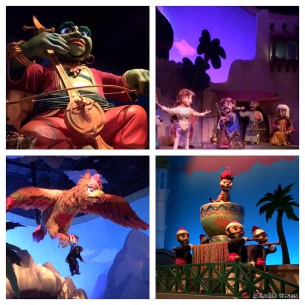 Scenes from Sinbad's Storybook Voyage