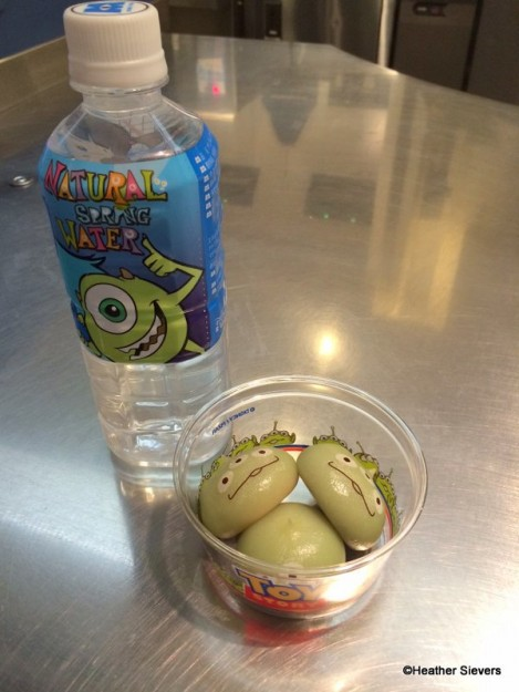 Water & Little Green Dumplings, Please!