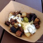 2015 Epcot Flower and Garden Recipe: Burnt Ends Brisket Hash from the Smokehouse Outdoor Kitchen