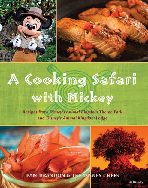 A Cooking Safari with Mickey Cookbook Cover