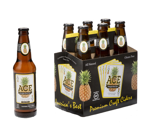 Ace Pineapple Cider -- the First Pineapple Cider in the World and Perfect for the Flower and Garden Festival!