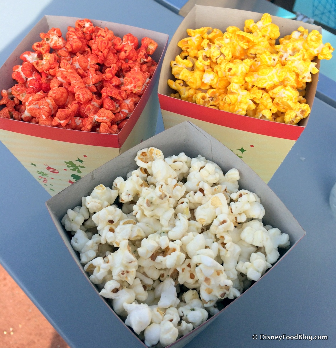 Popcorn Tins For Christmas