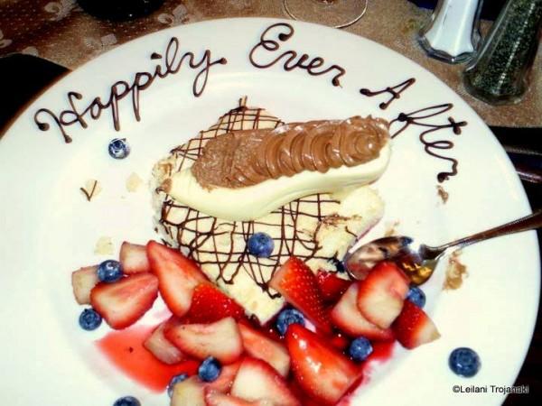 Cinderella Slipper Dessert