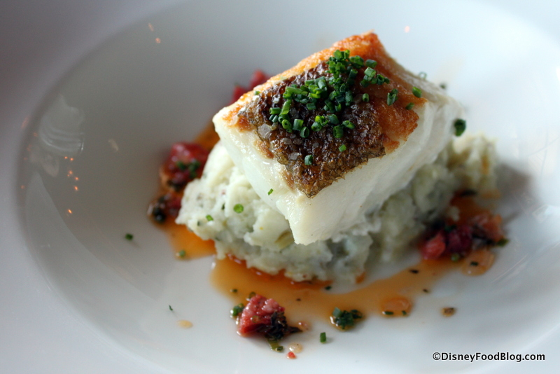 Cod Cornucopia at Raglan Road Irish Pub in Disney Springs