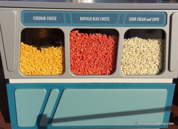 Epcot Flavored Popcorn Cart