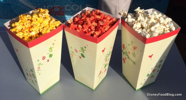 Gourmet Flavored Popcorn Options