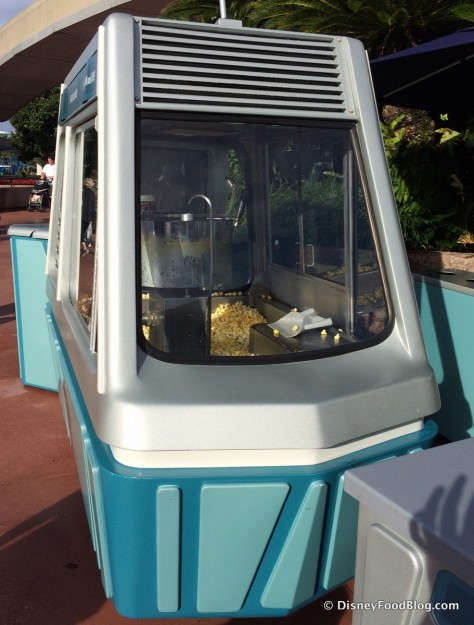 Popcorn Cart From the Side