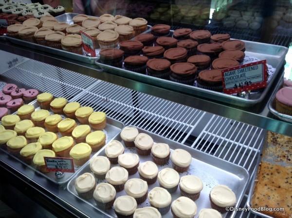 Cupcake bakery case