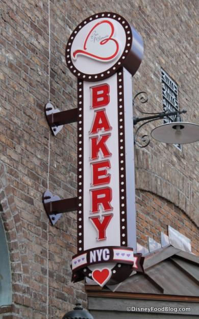 Erin McKenna's NYC Bakery sign