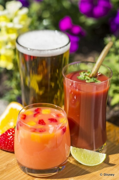 New Beverages Set to Debut at the 2015 Epcot International Flower and Garden Festival Include Pineapple Cider, X, and an Urban Mary