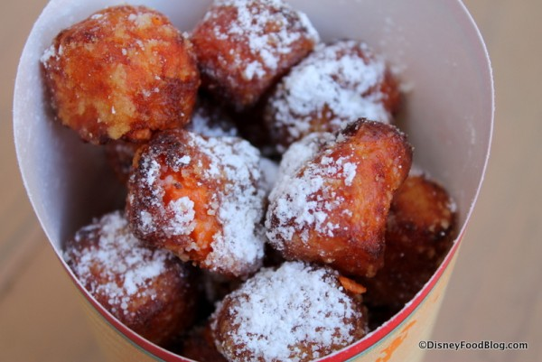 Sugar-dusted nuggets