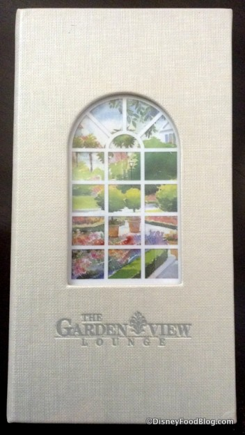 The Garden View Lounge Afternoon Tea menu