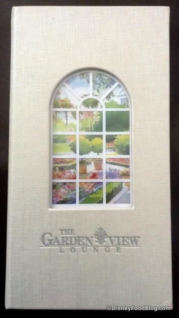 The Garden View Lounge Afternoon Tea menu